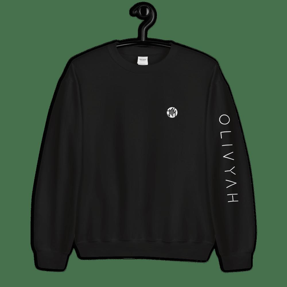 unisex-crew-neck-sweatshirt-black-front-6021e3b9e6ca4